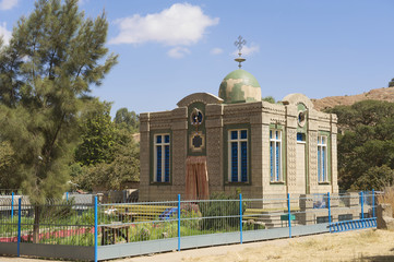 The Chapel of the Tablet, Axum, Ethiopia.