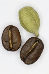 Coffee and cardamom.