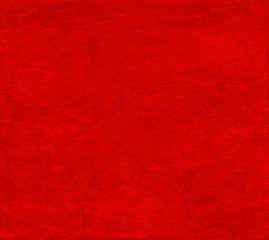 Bright red background from japanese hand made paper texture