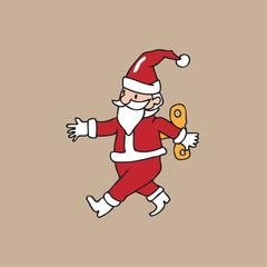 Santa wind up