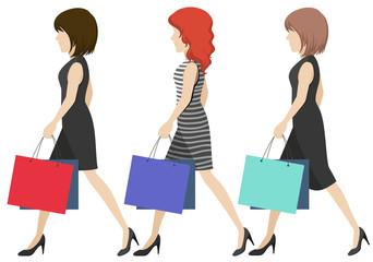 Women shoppers