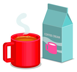 Coffee and creamer image