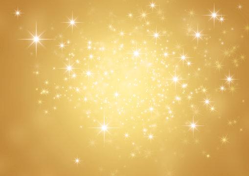 festive sparkling gold background
