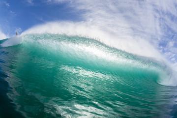 Wave Crashing Swimming