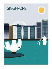 Singapore city.
