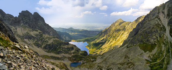 View to Black Pond, Tatra mountains