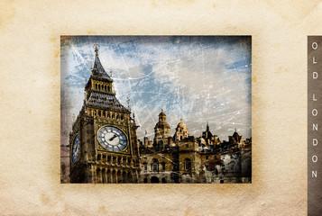 London Composing Vintage