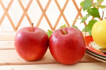 美味しそうなリンゴ