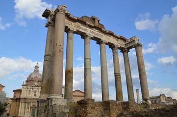 Roman Forum, hinten, Herbst