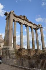 Rom, Roman Forum im Herbst