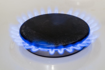 fire burning gas burner household gas ovens