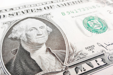 one dollar bill
