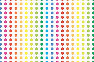 背景素材壁紙,虹色,六角,タイル,広告,宣伝,コマーシャル,販促,販売促進,アバター,プロフィール,チラシ,ポスター,アイコン