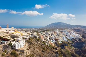 Thira, Santorini, Greece.