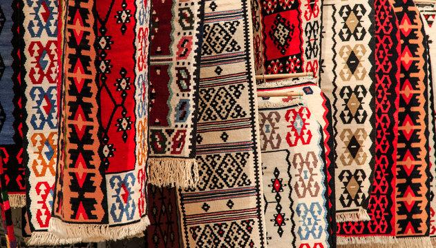 Artigianal carpets for sale in Skopje
