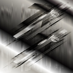 Abstract arrows fly background