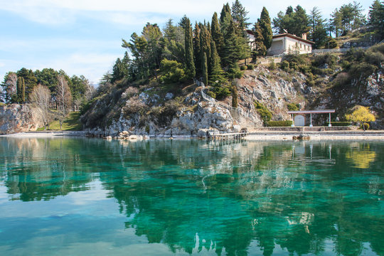Ohrid lake,Tito's former residence