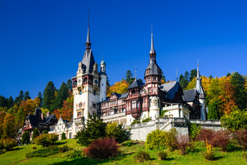 Photo sur Aluminium Chateau Peles Castle, Romania