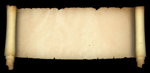 Old medieval parchment.