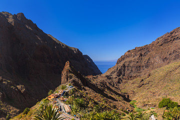 Village Masca at Tenerife island - Canary