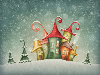 Zimowe domy