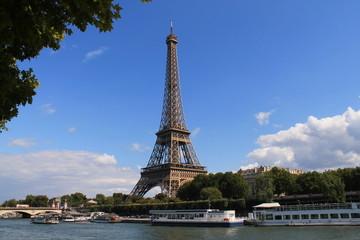 La Tour Eiffel à Paris, France