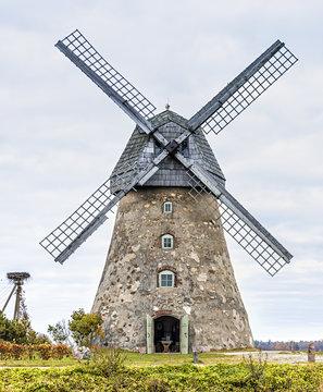 Medieval windmill near Cesis, Latvia