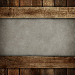 paint background with wooden frame