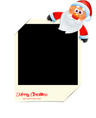 Santa Claus photo frame