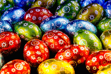 Details of Chocolate Easter Eggs