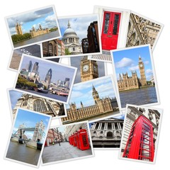 London collage
