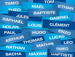 ETIQUETTES Prenoms Garcons