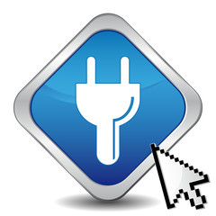 ELECTRIC PLUG ICON