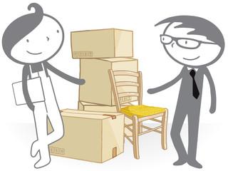 Négociation déménagement