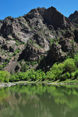 Wall Mural - Gunnison river in Black canyon of the Gunnison NP, CO, USA