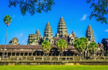 Amazing Angkor Wat Temple, Siem Reap, Cambodia