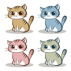 猫 ネコ キャラクター