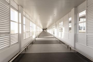airport corridor