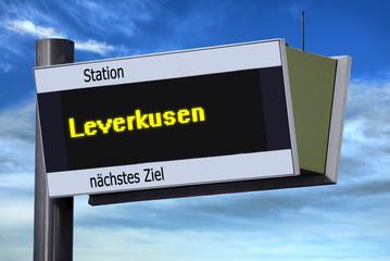 Anzeigetafel 6 - Leverkusen