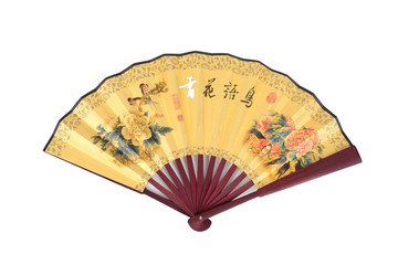 Chinese traditional fan.