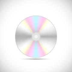 DVD or CD Illustration