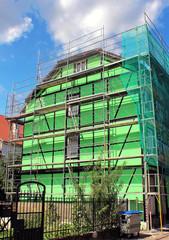 travaux de peinture de façade