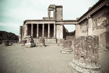 Ruins of the Basilica, Pompeii