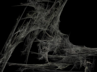 Gray fantasy net abstract fractal effect light background