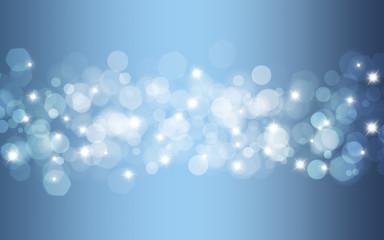 Hintergrund abstrakt blau Sterne Licht Wallpaper