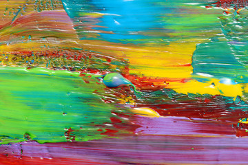 Abstract art background. Hand-painted background