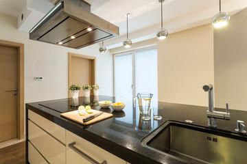 Beauty kitchen interior