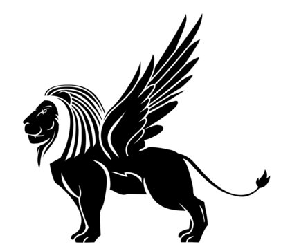 Winged Lions Vector & Photo (Free Trial)   Bigstock
