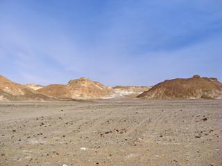 Egypte désert blanc