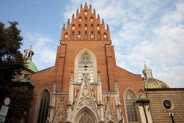 Church Of The Holy Trinity in Krakow